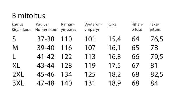 ERIKOISPITKÄ PAITA 2444-60-5278